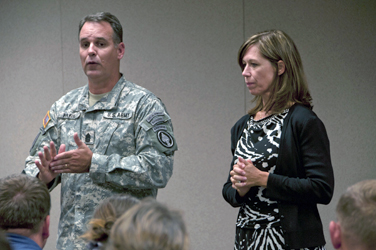 Command Sgt. Maj. Chris Faris, the senior enlisted advisor for U.S. Special
