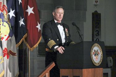 Admiral McRaven speaks to Class of 2015 at 500th Night