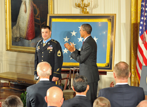 Medal of Honor recipient - SFC Petry