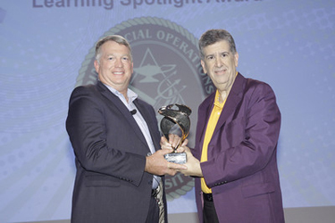 Joint Special Operations University receives the Elliott Masie Learning Award