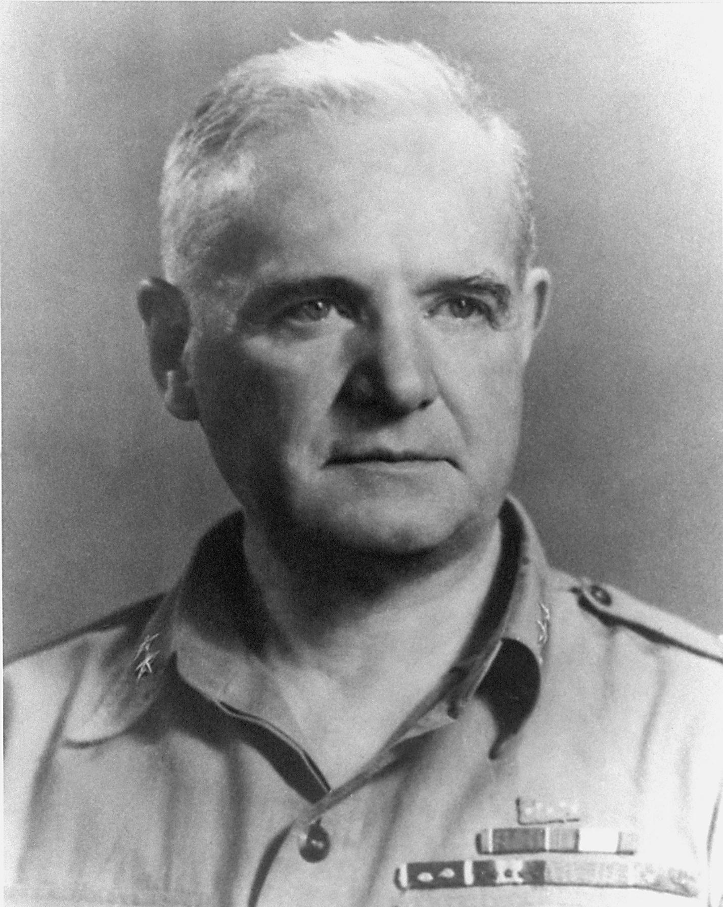 Maj. Gen. William J. Donovan when he headed the Office of Strategic Services. Courtesy CIA photo