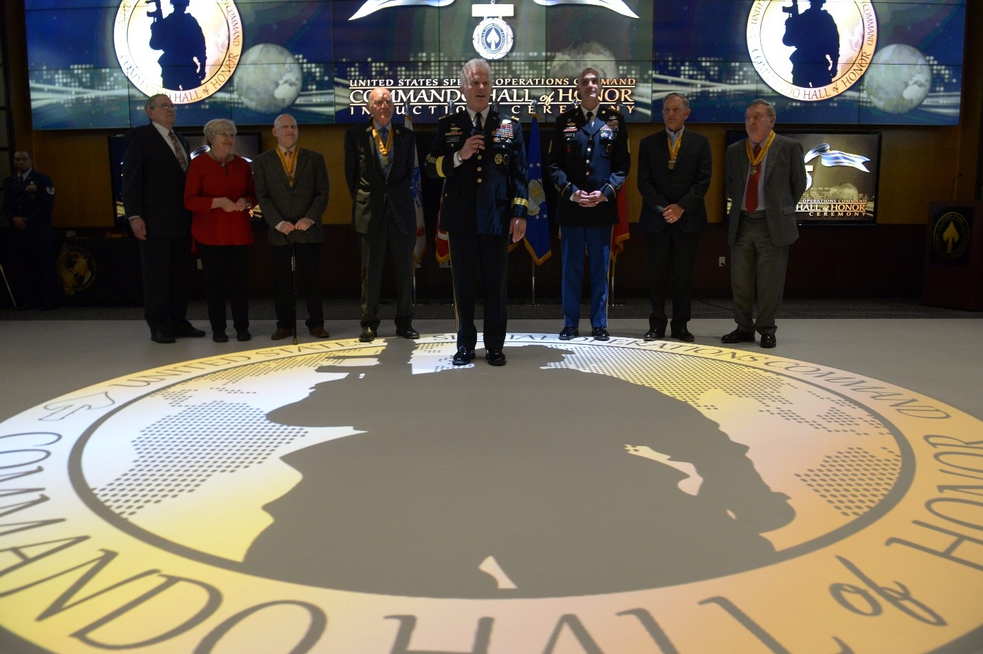 USSOCOM inducts six new members to Commando Hall of Honor