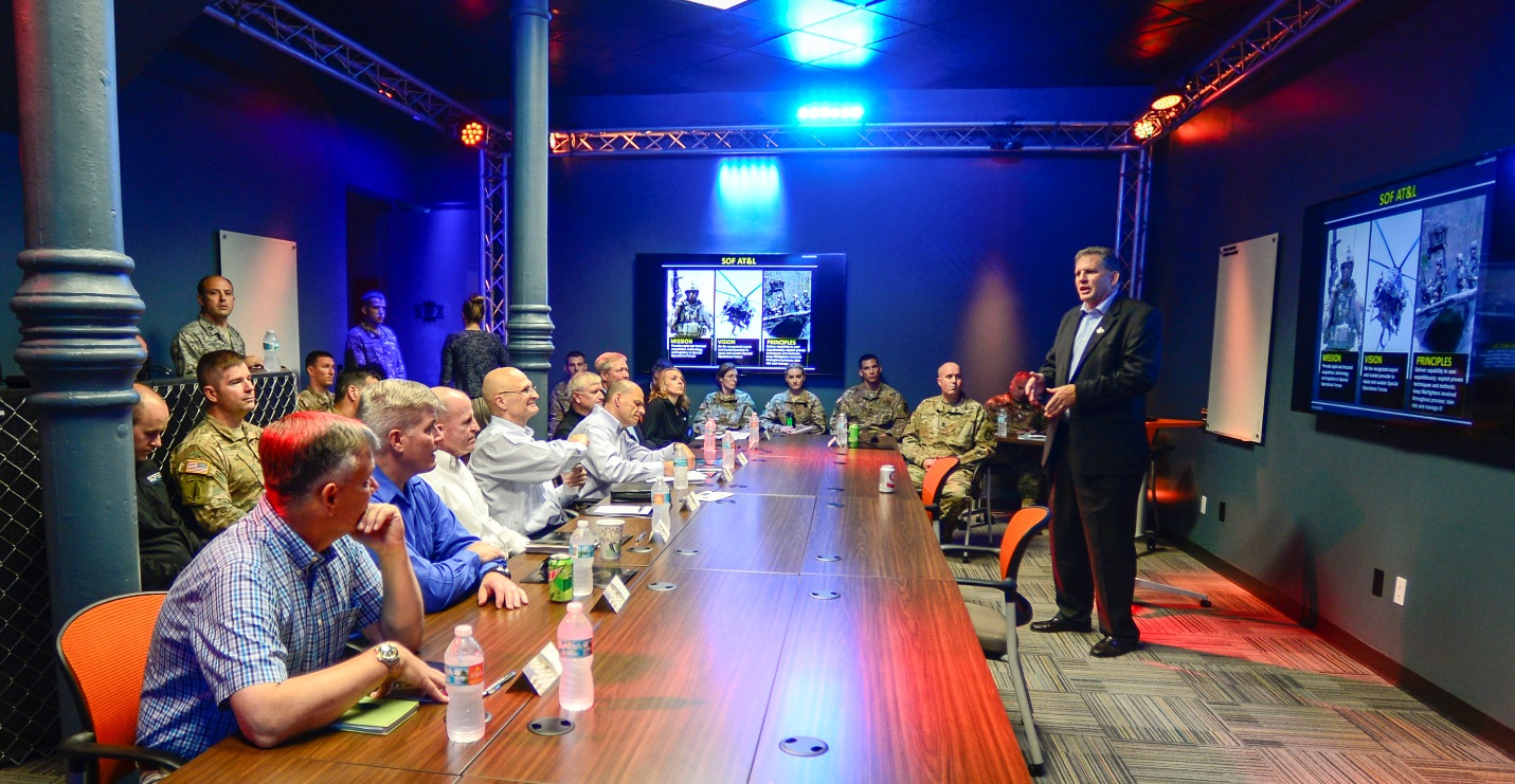 Senior Air Force Leadership visit SOFWERX