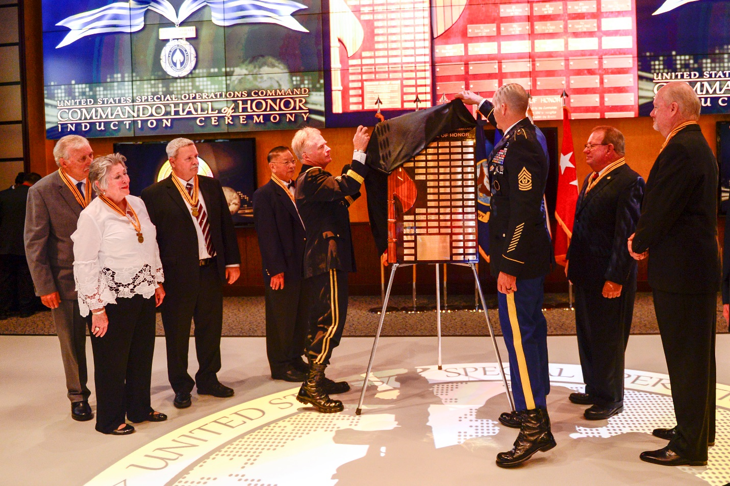 Commando Hall of Honor 2017