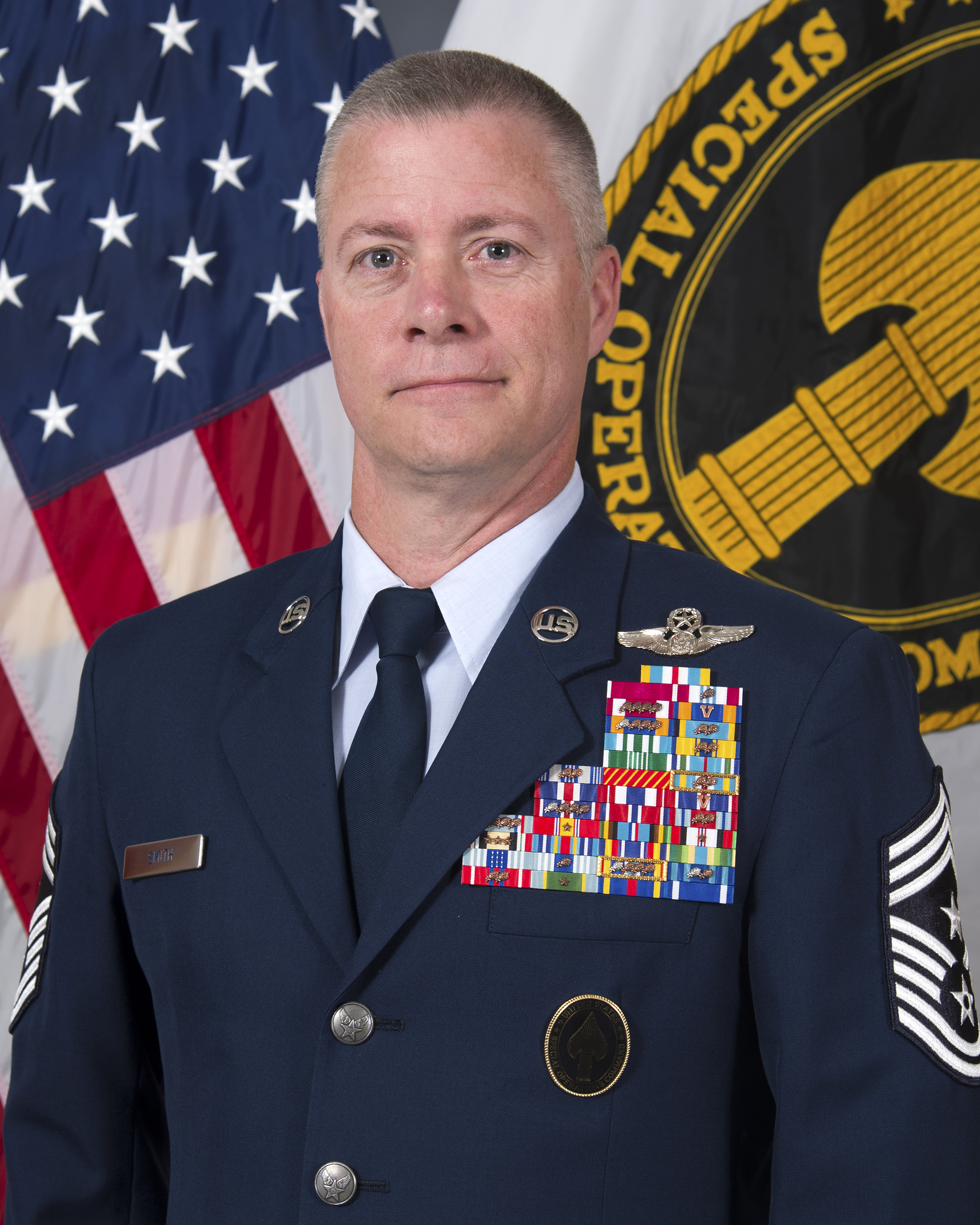Command Chief Master Sergeant Gregory A. Smith