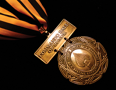 Commando Hall of Honor Medal Photo