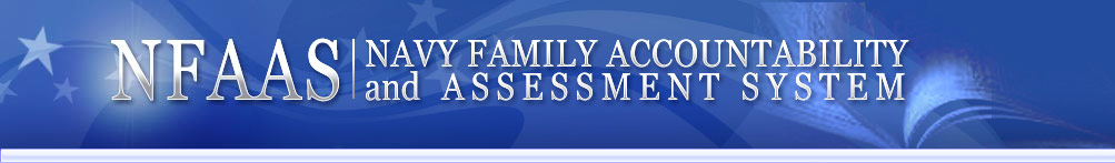 Navy Family Accountability & Assessment