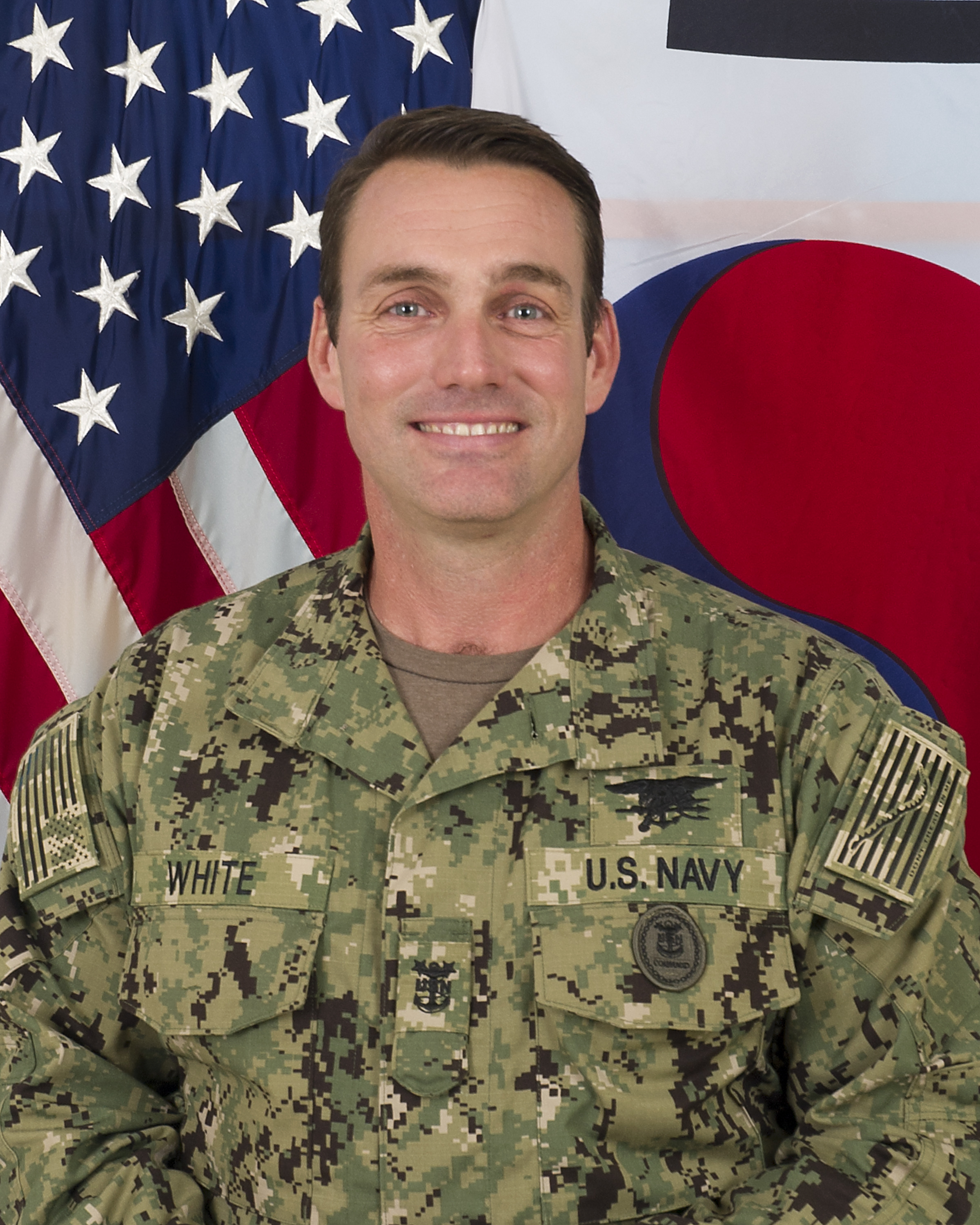 Senior Enlisted Leader, SOCKOR, Command Master Chief Petty Officer Stephen D. White