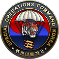 United States Special Operations Command Korea Logo